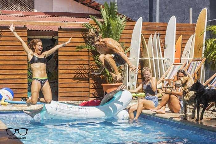 Beds on Bohio Hostel in Costa Rica is one of the best party hostels in the world