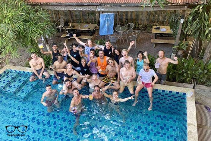 Bodega Khao San Party Hostel in Bangkok, Thailand is one of the best party hostels in the world