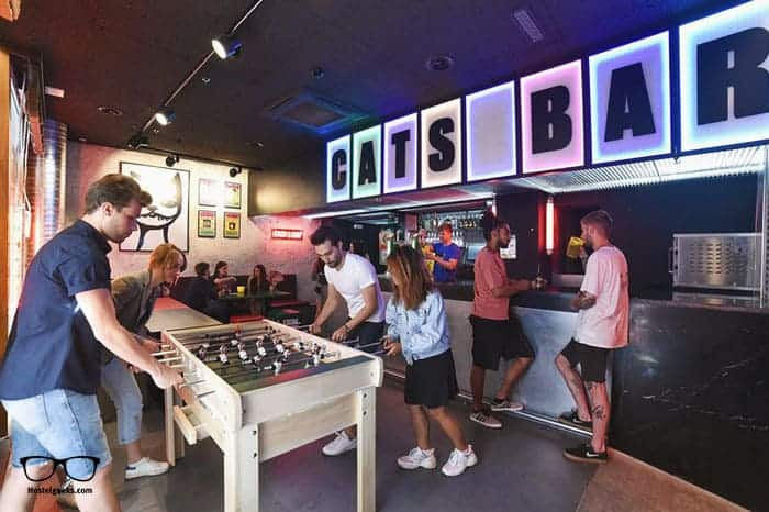 Cats Hostel Madrid Sol in Spain is one of the best party hostels in the world