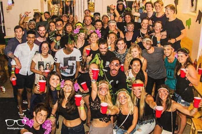 Gspot Party Hostel in Lisbon, Portugal is one of the best party hostels in the world