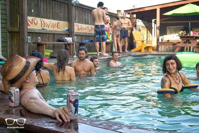 India House Backpackers Hostel in New Orleans, USA is one of the best party hostels in the world