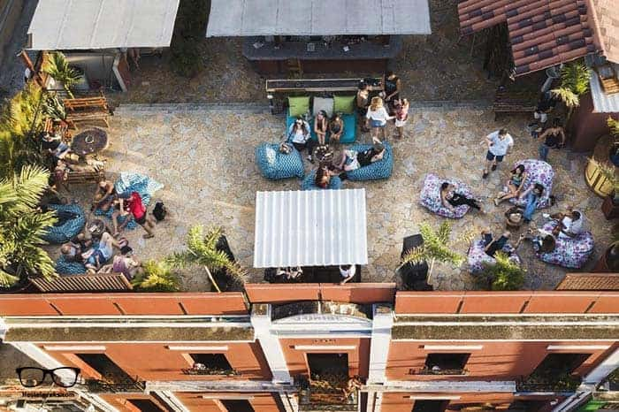 La Brisa Loca in Santa Marta, Colombia is one of the best party hostels in the world
