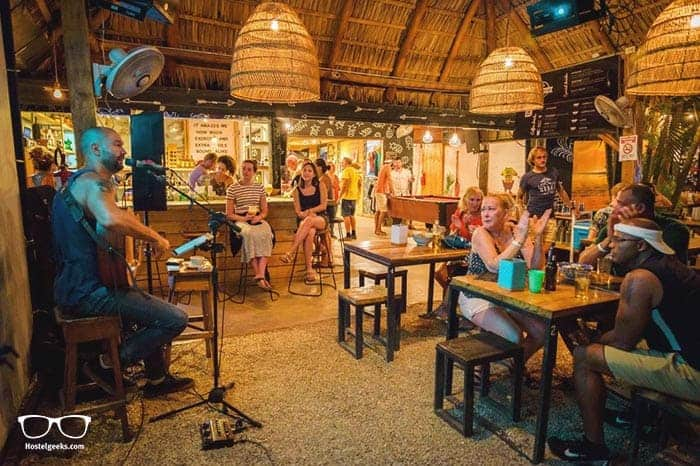 La Oveja Tamarindo Hostel in Costa Rica is one of the best party hostels in the world