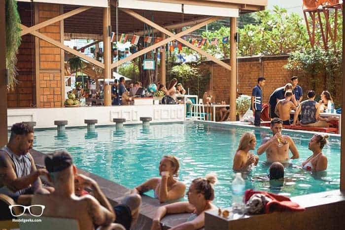 Lub D in Siem Reap, Cambodia is one of the best party hostels in the world