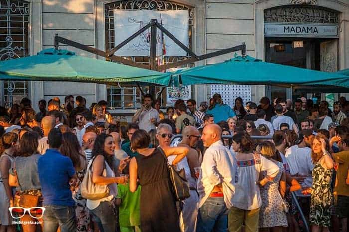 Madama Hostel & Bistrot in Milan, Italy is one of the best party hostels in the world
