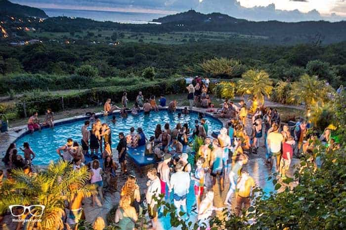 Naked Tiger Hostel in San Juan, Nicaragua is one of the best party hostels in the world