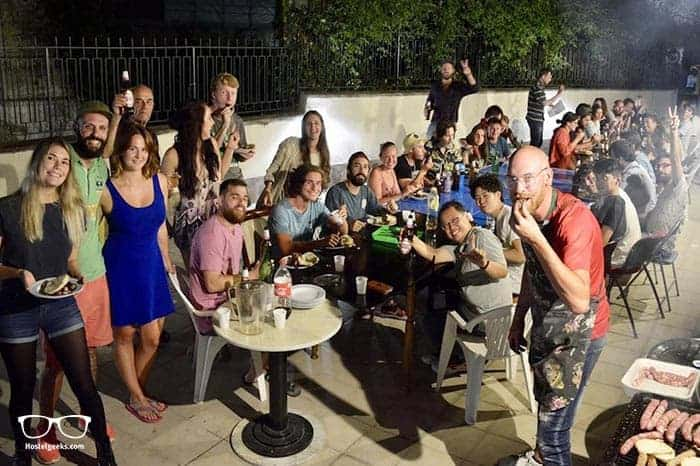 Naples Experience Backpackers Hostel in Italy is one of the best party hostels in the world