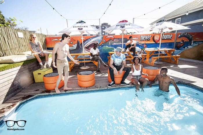 never@home in Cape Town, South Africa is one of the best party hostels in the world
