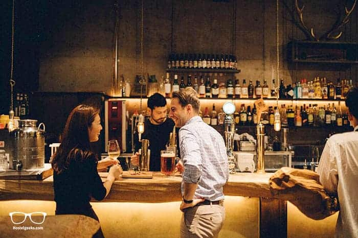 Nui. Hostel & Bar lounge in Tokyo, Japan is one of the best party hostels in the world