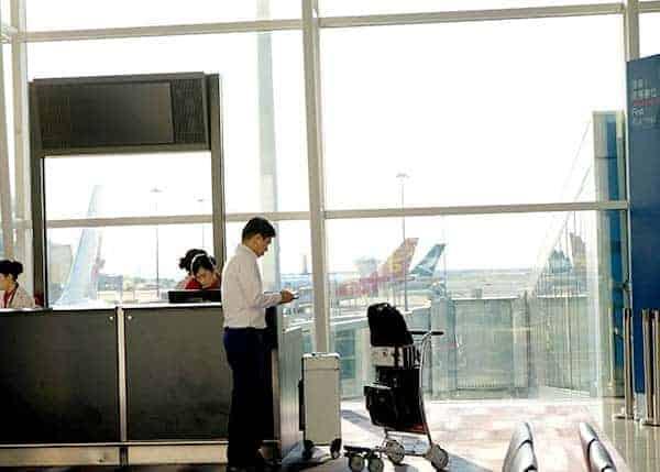 First Class with Qatar Airways