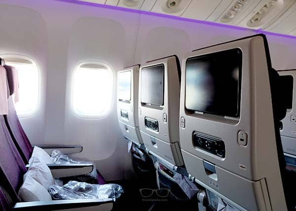 Qatar Airplanes are modern and neat