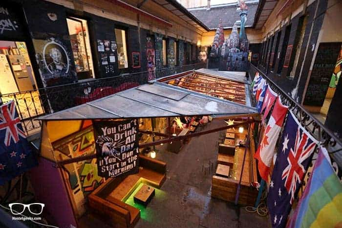Retox Party Hostel in Budapest, Hungary is one of the best party hostels in the world