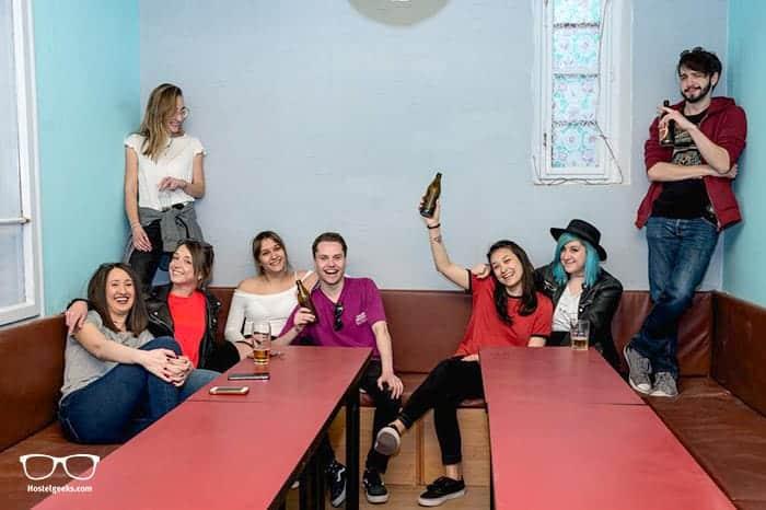 Reveller's Hostel in Belgrade is one of the best party hostels in the world