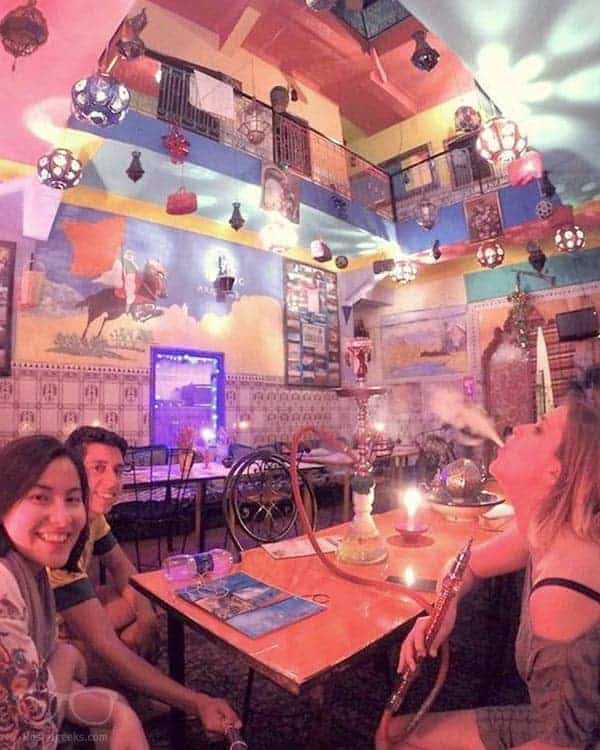 Hostel Waka Waka in Marrakesh, Morocco is one of the best party hostels in the world
