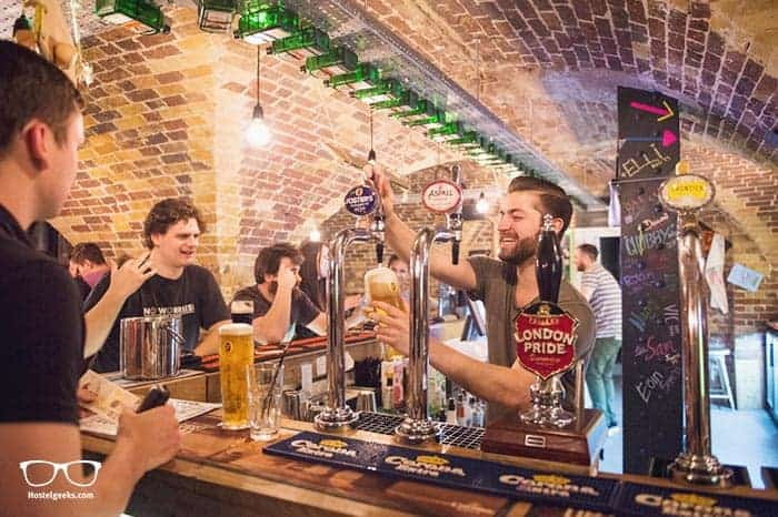 Wombats City Hostel Budapest is one of the best party hostels in the world
