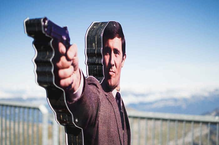 James Bond in Schilthorn