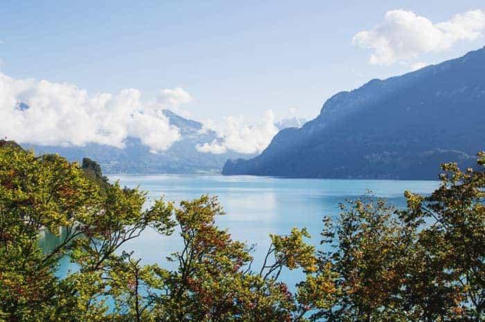 Lake views, Interlaken