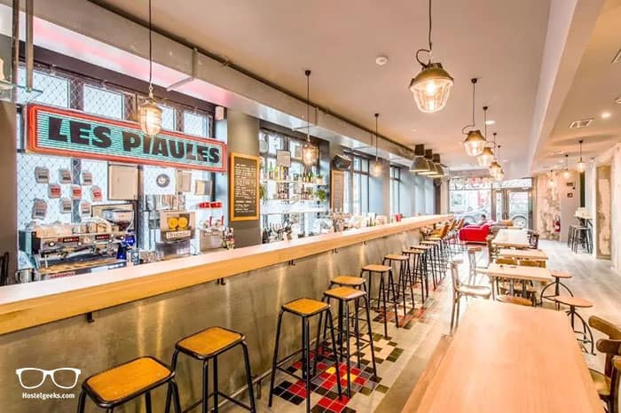Les Piaules is one of the best hostels in Paris, France