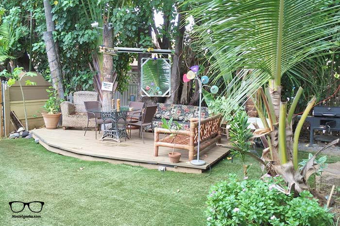 Tiki Beach Hostel is one of the best hostels in Hawaii