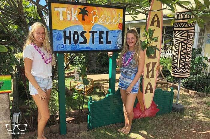 Tiki Beach Hostel is one of the best hostels in Maui, Hawaii
