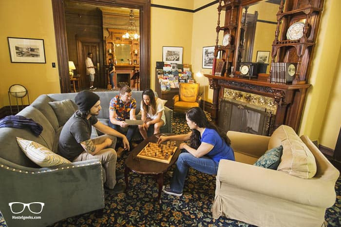HI Sacramento Hostel is one of the best hostels in California, USA