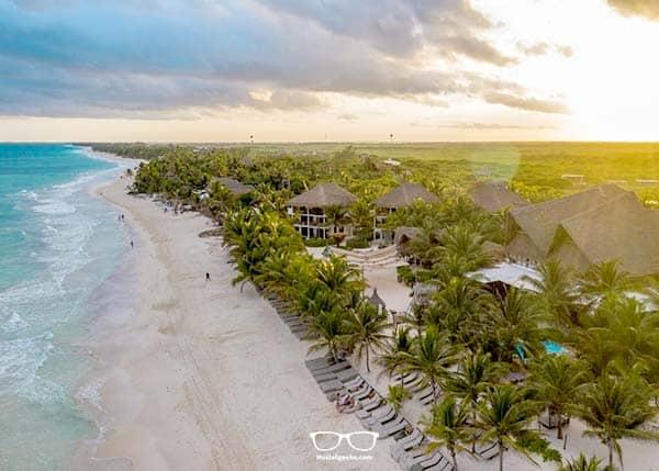 Best Beach Hostel n Tulum? That would be Selina Hostel