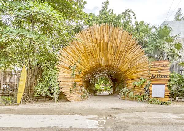 Impressive Entrance at Selina Tulum