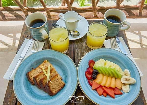 Yummy braekfast at Selina Tulum, South Beach