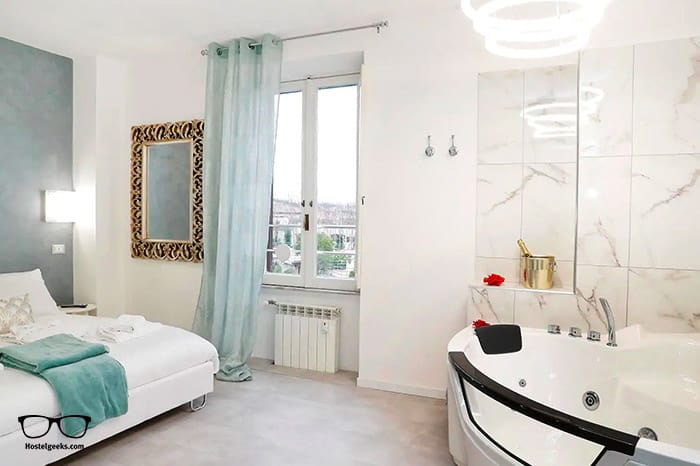 """Best """"budget stay"""" Airbnb, part of our full guide to the best Airbnbs in Rome, Italy"""