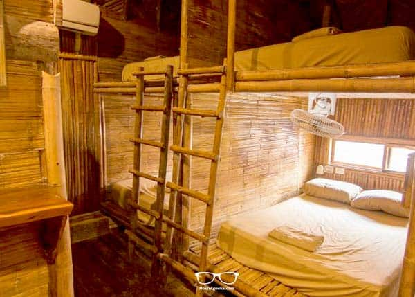 Dorm for Couples at Bambu Hostel in Tulum - this is the cheaper option for Couples