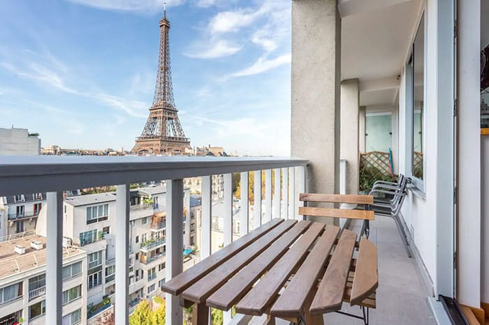 "The best ""Best Views"" Airbnb in Paris, part of our full guide to the best Airbnbs in Paris, France"