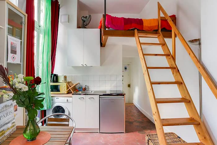 "The best ""entire place to yourself"" Airbnb in Paris, part of our full guide to the best Airbnbs in Paris, France"