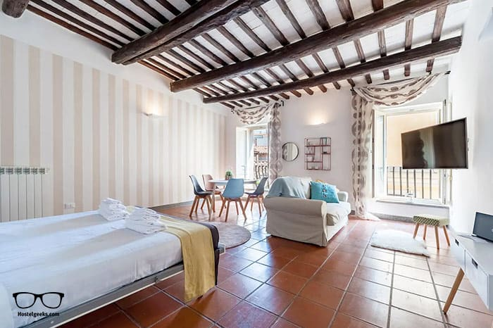 """The best """"entire place to yourself"""" Airbnb in Rome, part of our full guide to the best Airbnbs in Rome, Italy"""
