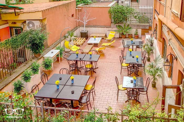 """Best """"hostel stay"""" Airbnb, part of our full guide to the best Airbnbs in Rome, Italy"""