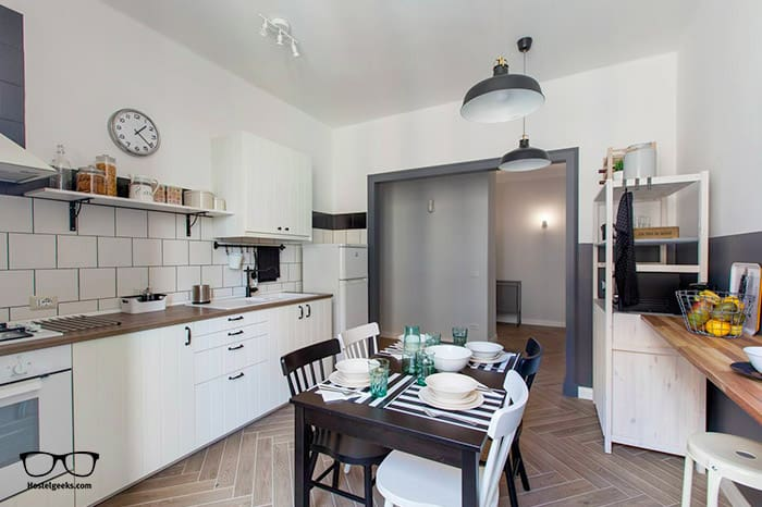 """Best """"hotel stay"""" Airbnb, part of our full guide to the best Airbnbs in Rome, Italy"""