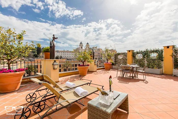 Best Airbnb Luxe, part of our full guide to the best Airbnbs in Rome, Italy