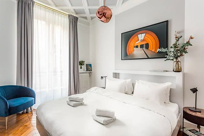 "The best ""Luxury"" Airbnb in Paris, part of our full guide to the best Airbnbs in Paris, France"