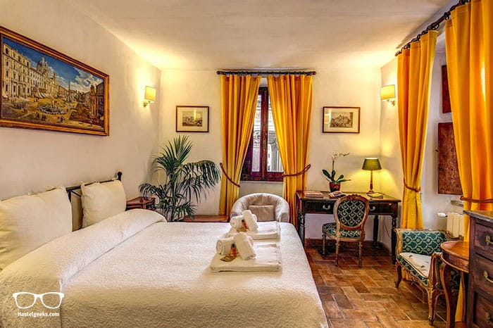 The most central Airbnb in Rome, part of our full guide to the best Airbnbs in Rome, Italy