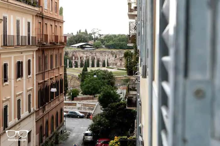 Best Airbnb near the Colosseum, part of our full guide to the best Airbnbs in Rome, Italy