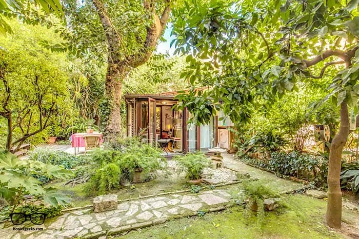 """Best Airbnb with """"private room"""", part of our full guide to the best Airbnbs in Rome, Italy"""
