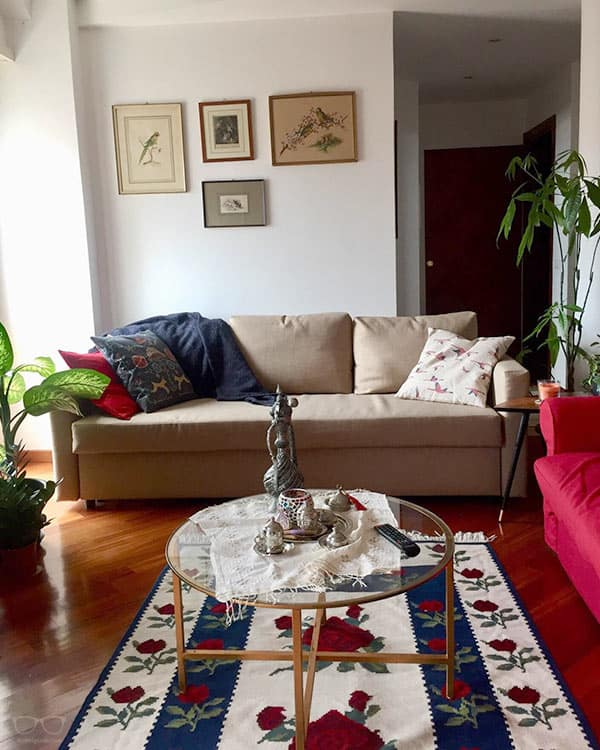 """Best Airbnb with """"shared room"""", part of our full guide to the best Airbnbs in Rome, Italy"""