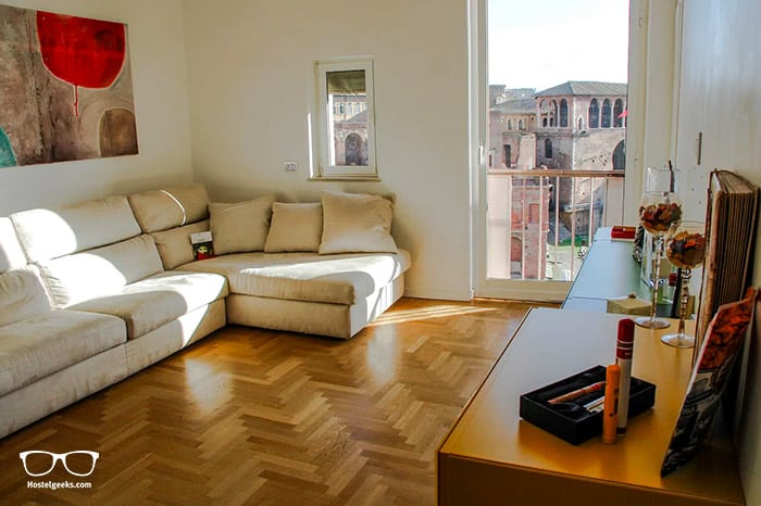 """""""WOW"""" Factor, part of our full guide to the best Airbnbs in Rome, Italy"""
