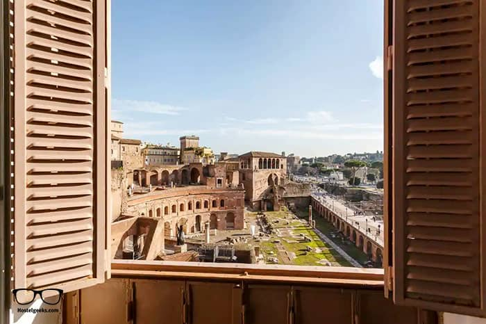 """WOW"" Factor, part of our full guide to the best Airbnbs in Rome, Italy"
