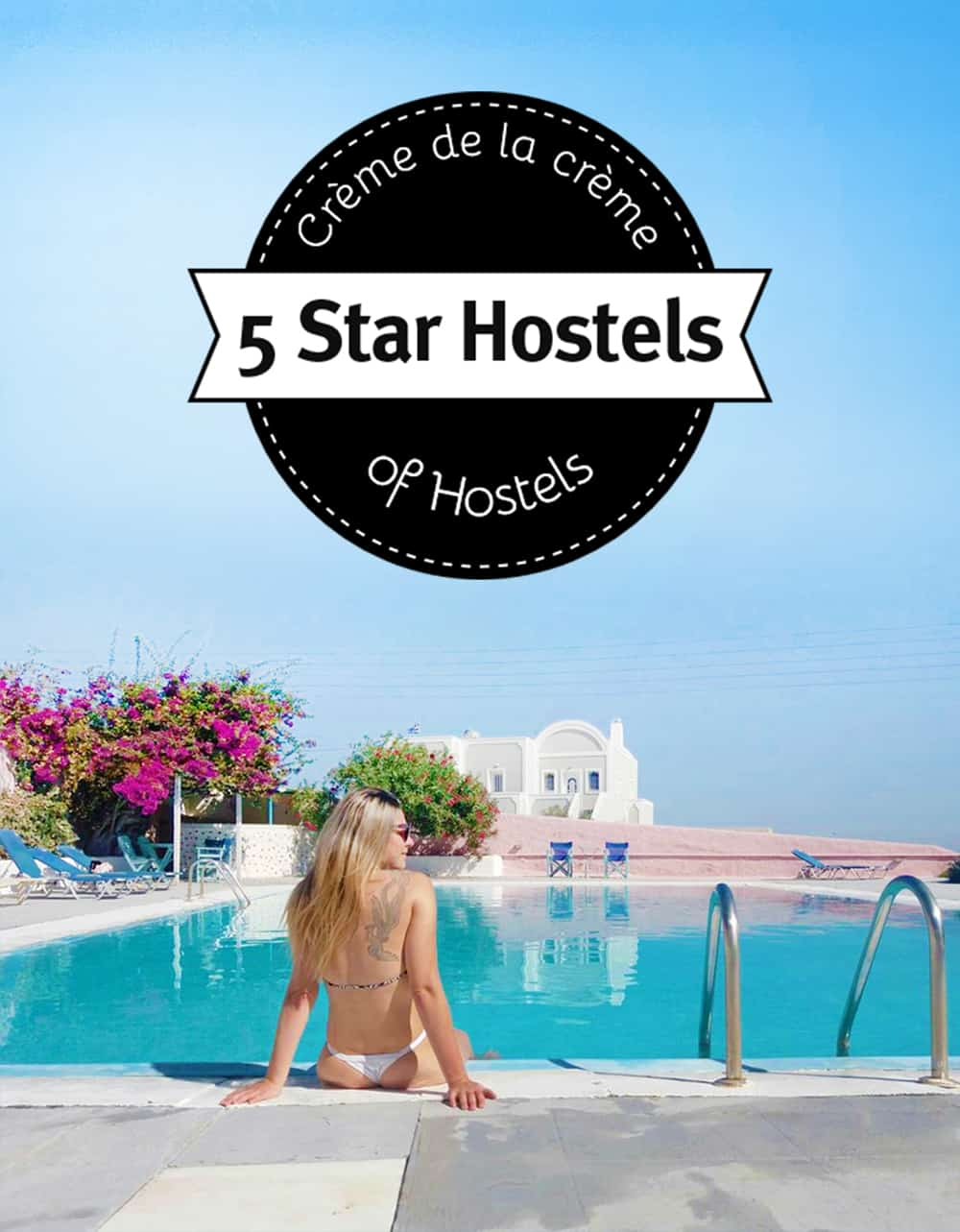 Best hostel in Santorini Greece: Caveland Hostel