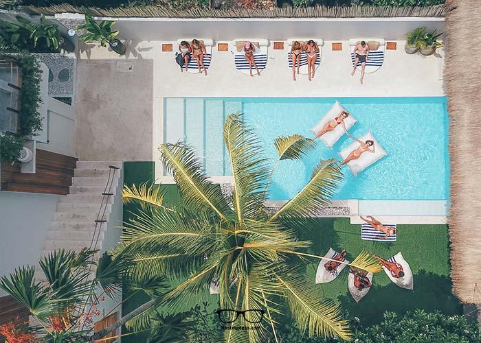 One of our favorite hostels in Ubud Bali: Arya Wellness Retreat