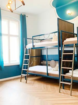 Grand Hostel Berlin Classic – great for female solo travelers