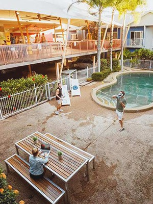 Bounce Cairns in Cairns, Australia