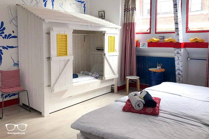 Hostel Room is one of the best hostels in Rotterdam, Netherlands