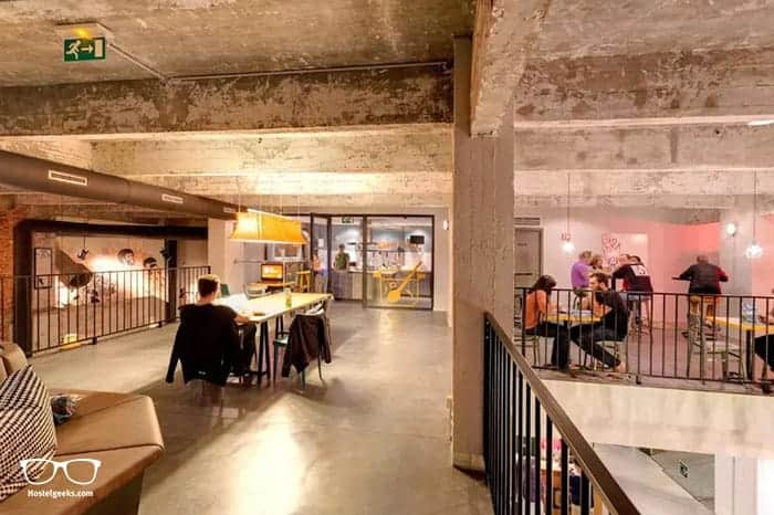 MEININGER Bruxelles City Center is one of the best hostels in Brussels, Belgium