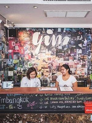 Yim Huai Khwang Hostel in Bangkok, Thailand